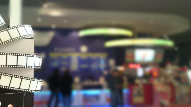 映画館でのアルバイト