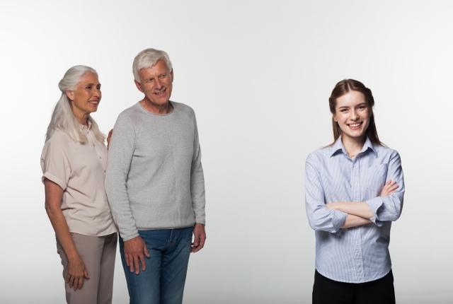自分の家族や友人とうまく付き合える女性