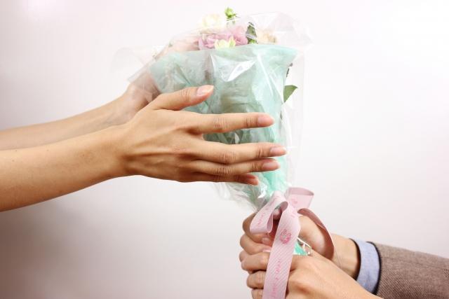 ホワイトデーのお花のお返し