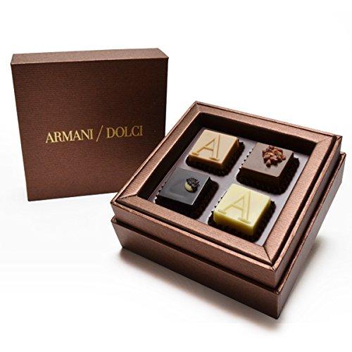 ARMANI COLCI(アルマーニドルチ)「ブロンズボックス プラリネ」4個入り