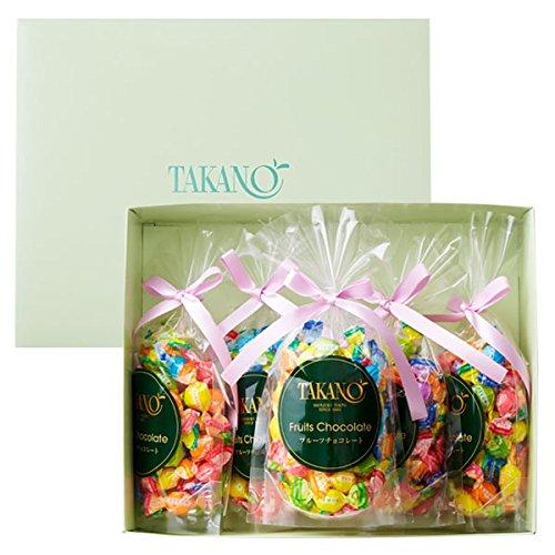 新宿高野「フルーツチョコレート5袋入り」