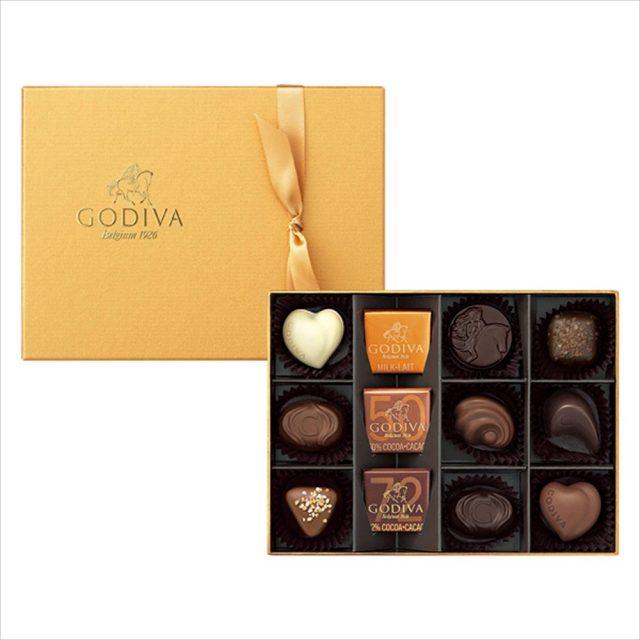 Godiva(ゴディバ)「ゴールドセレクション」12粒