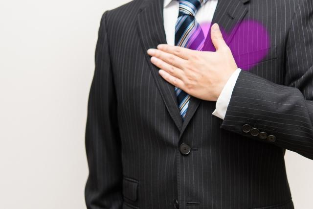 3回目の婚活デートでの告白する男性