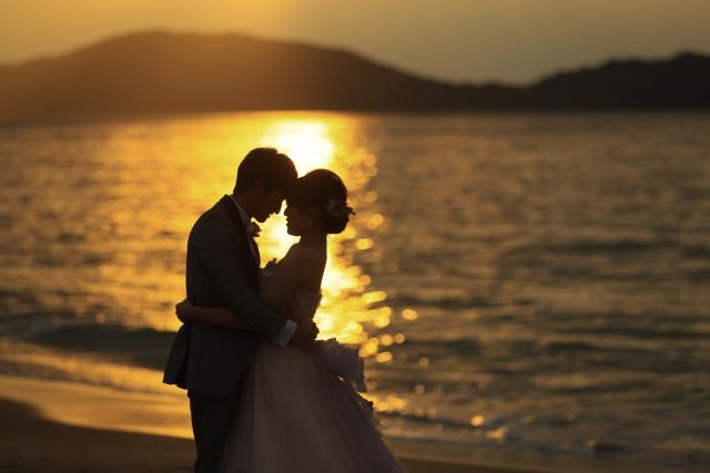 結婚に迷いのないカップル