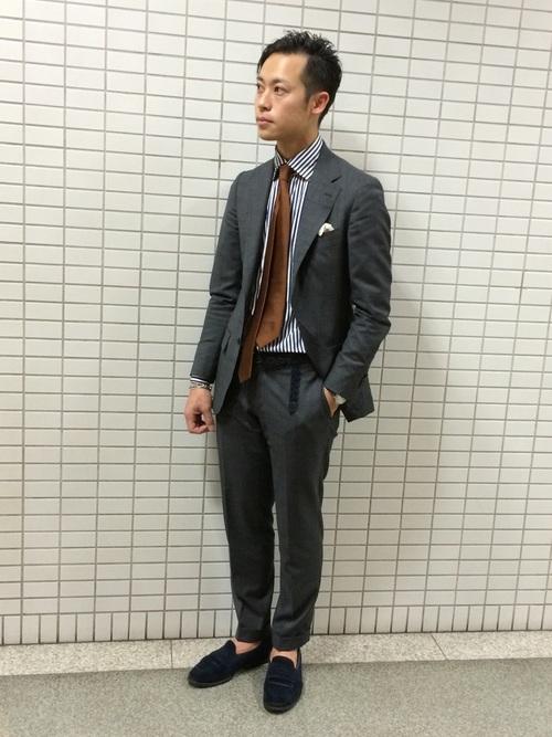 平日の40代男性の服装①