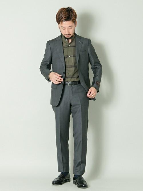 平日の30代男性の服装②
