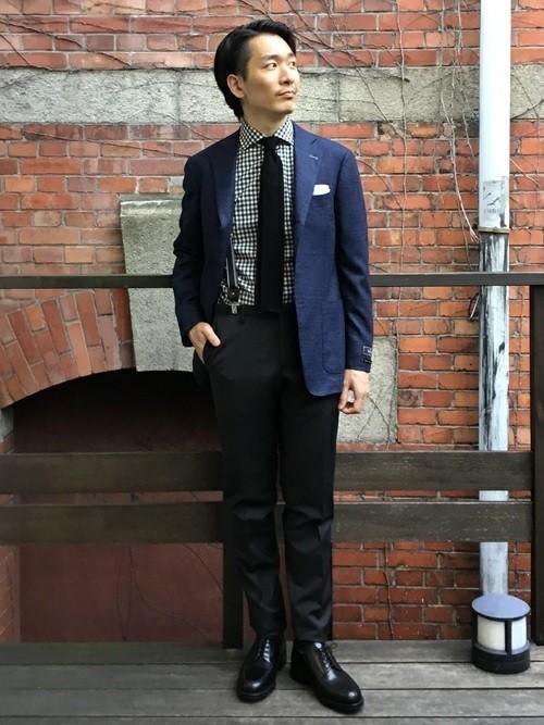 平日の30代男性の服装①