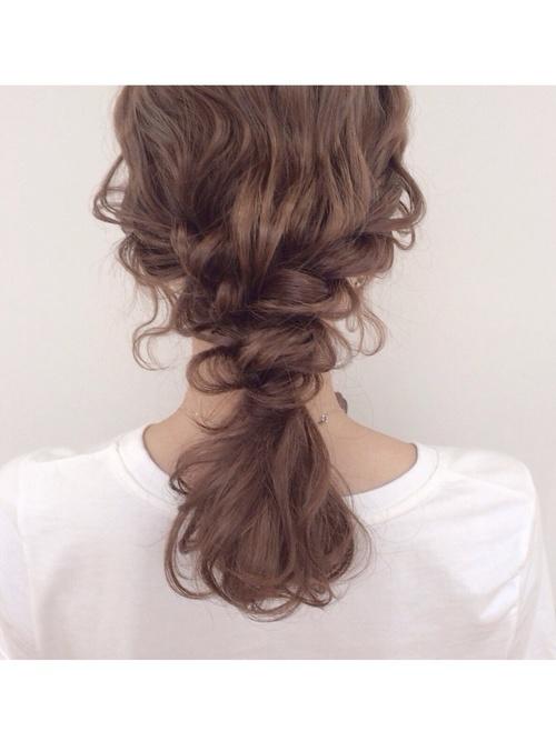 ゆるダウンヘア