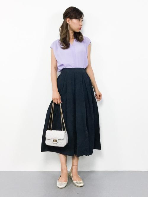 ブラウス+スカート