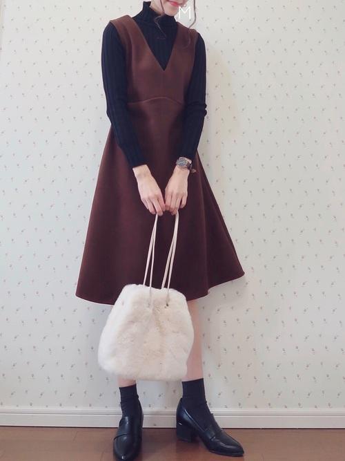 30代の焼肉デートでおすすめの冬の服装1