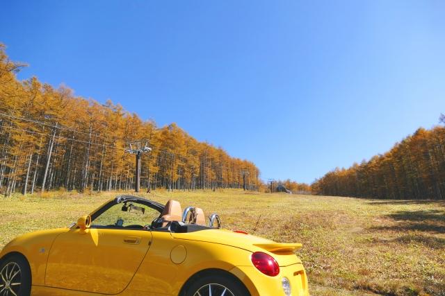 ドライブデートにおすすめの服装:秋