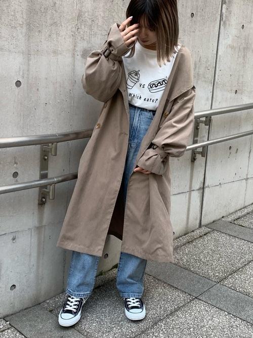 10代の春コーデ②