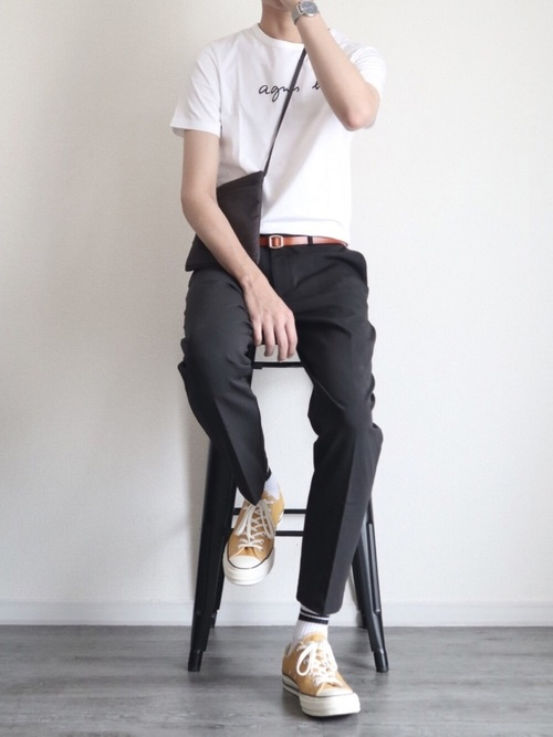 夏のデートにおすすめの男性の服装①