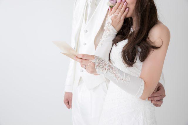 結婚式で大号泣して収拾がつかない新婦