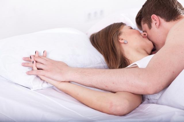 セックス中